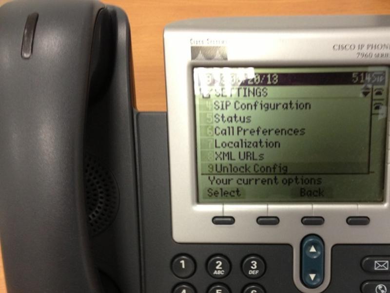 Подключение IP-телефона Cisco 7960 — Oktell